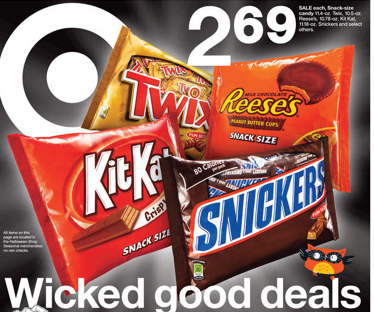 Best Prices for Halloween Candy This Week! As Low as $.75 a