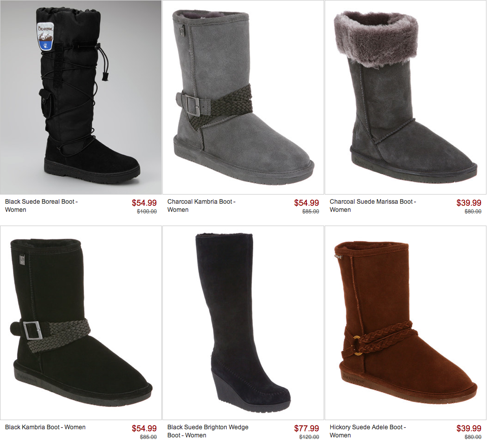 a38f1c3ef89 BEARPAW Boot Sale on Zulily! - Freebies2Deals
