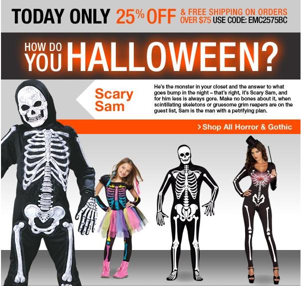 Costume coupons spirit