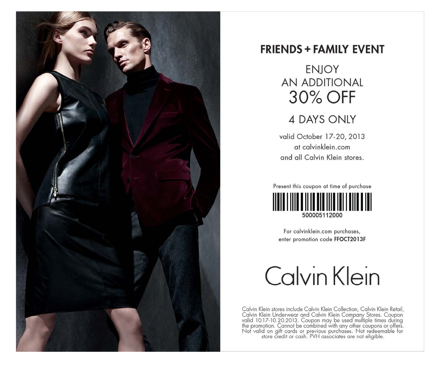 picture regarding Calvin Klein Printable Coupon identify Calvin Klein Promo Code Coupon codes