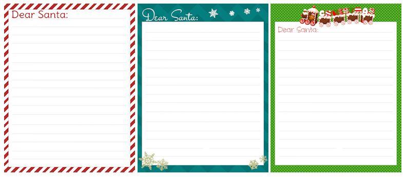 Free dear santa letter printables freebies2deals free dear santa letter printables spiritdancerdesigns Images