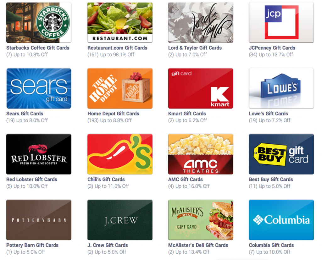 freebies2deals discounted gift cards