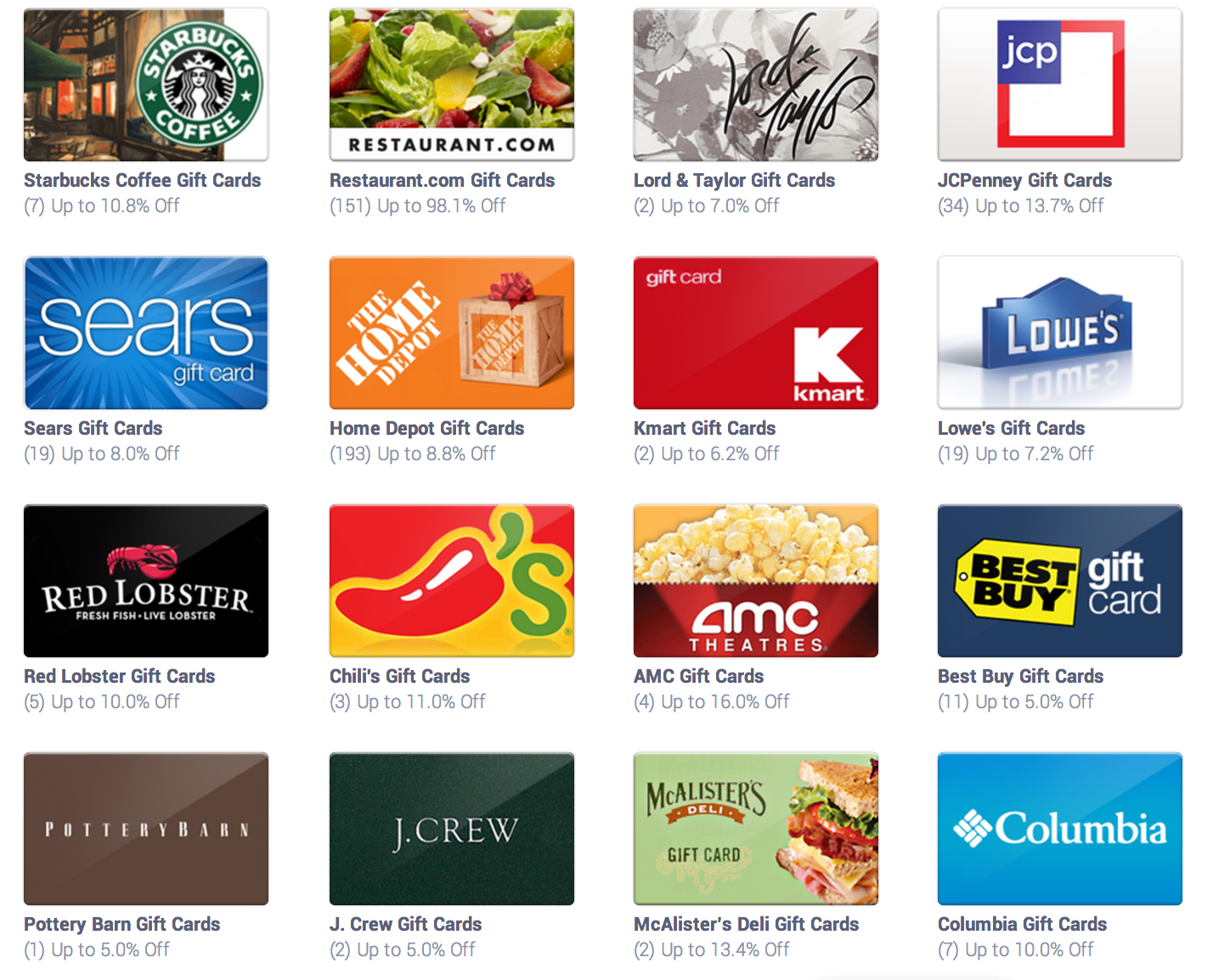 freebies2deals discounted gift cards - Gift Card Places