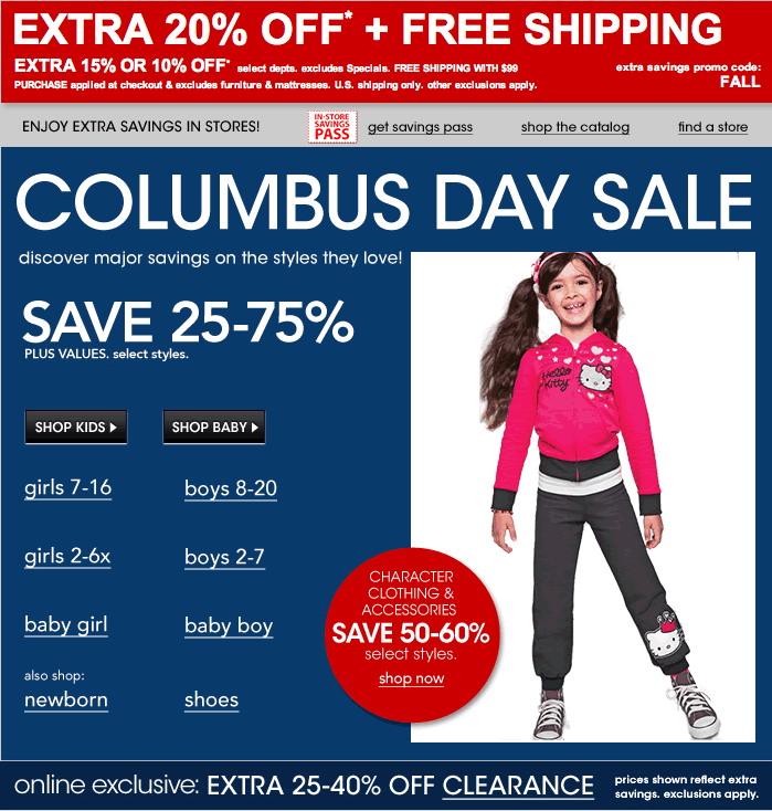 Macy's Columbus Day Sale: Save 25-75% + Extra 20% Off At ...