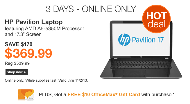 Officemax laptop coupons in store