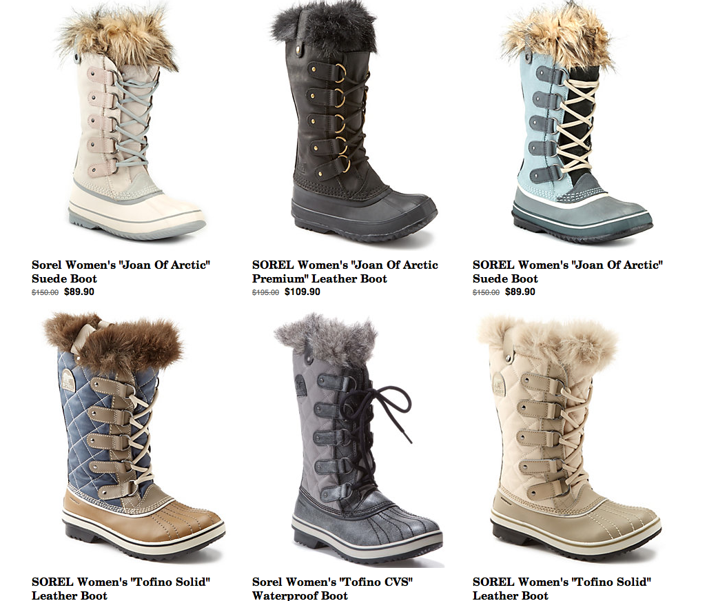 how to take care of sorel boots