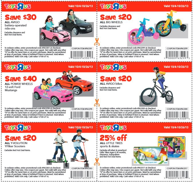 Toys r us coupons 10