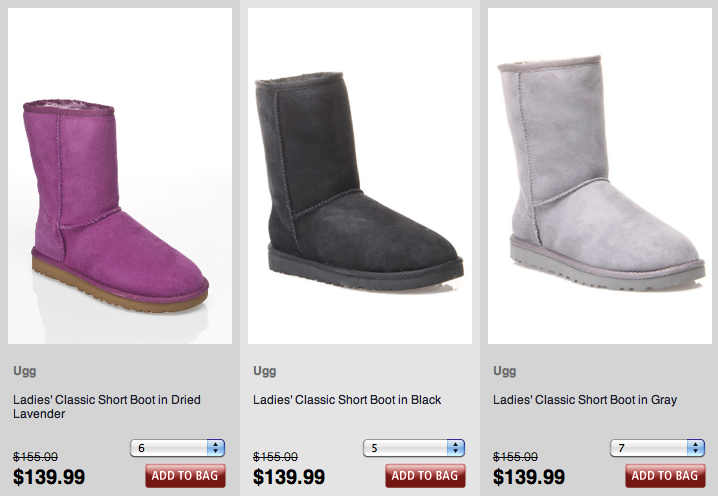 Beyond the rack is having a sale on the ugg boots during this sale