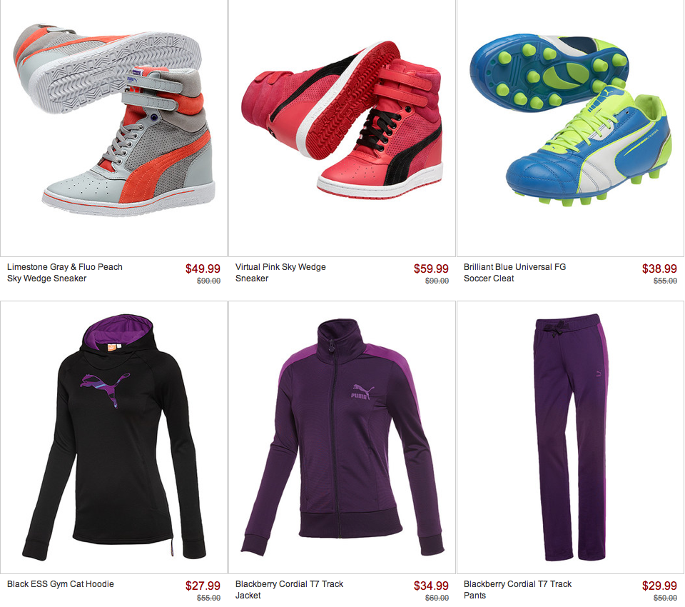 Huge PUMA Sale For Kids & Women On Zulily! - Freebies2Deals