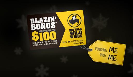 Blazin bonus
