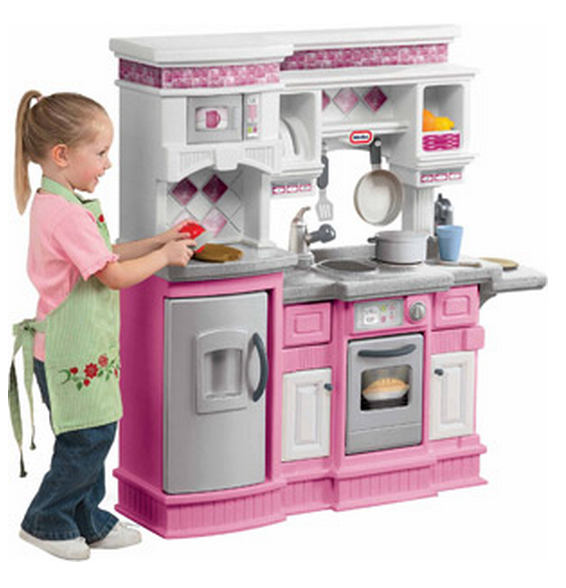 Little Tykes Kitchen: Little Tikes Gourmet Prep N Serve Kitchen Only $50! WOW