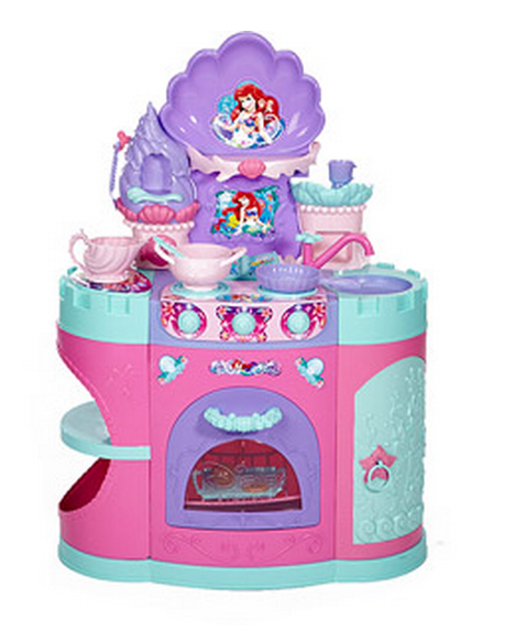 ariel's magical mermaid kitchen play set $59.00 shipped! in-stock
