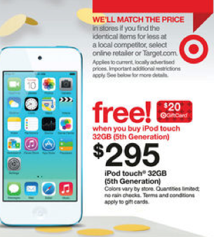 Shop for coupon for ipod touch online at Target. Free shipping & returns and save 5% every day with your Target REDcard.