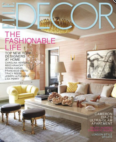 1 year subscription to elle decor magazine today for Elle deco magazine