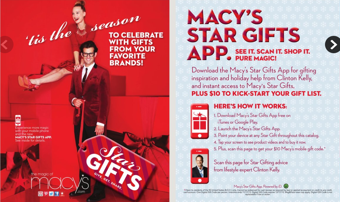 HOT! FREE $10 Macy's Gift Card For Smart Phone Users! - Freebies2Deals