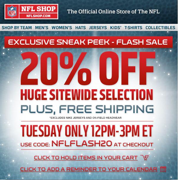 88d95492 NFL Shop Archives - Freebies2Deals