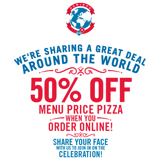 Dominos coupons friday offer
