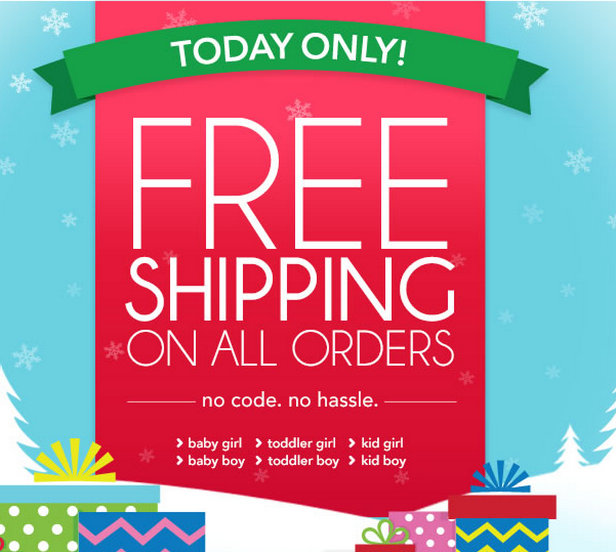 Free Shipping Today: Today Only: Free Shipping Sitewide From Carter's! Plus, 20