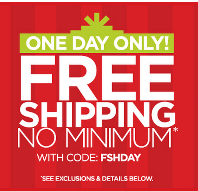 Free Shipping Today: Free Shipping Sitewide From JC Penney! (Today, Dec 18th