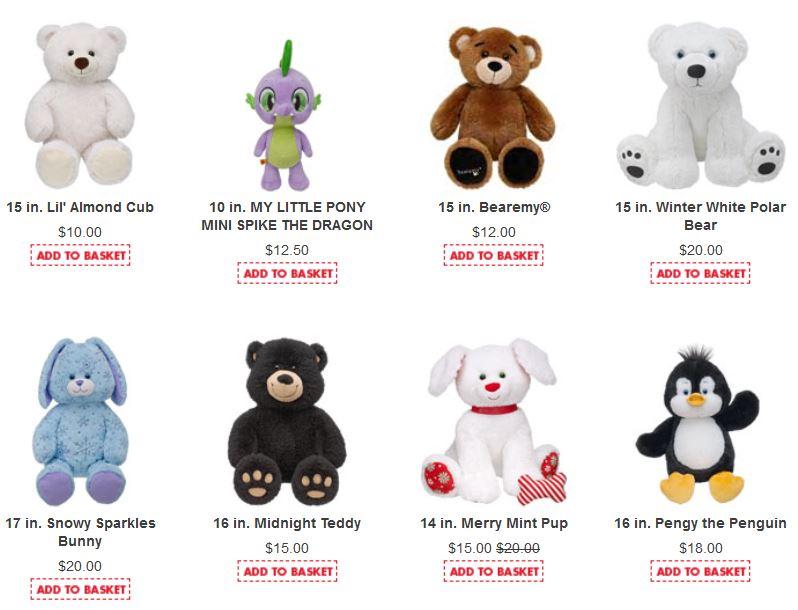 Build a bear coupons 10 off 30