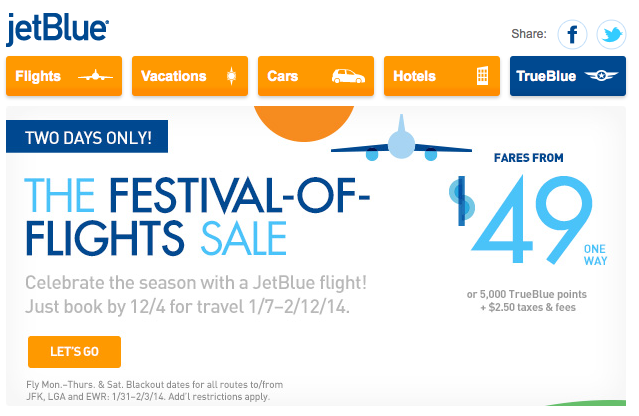 Jetblue coupons 2018