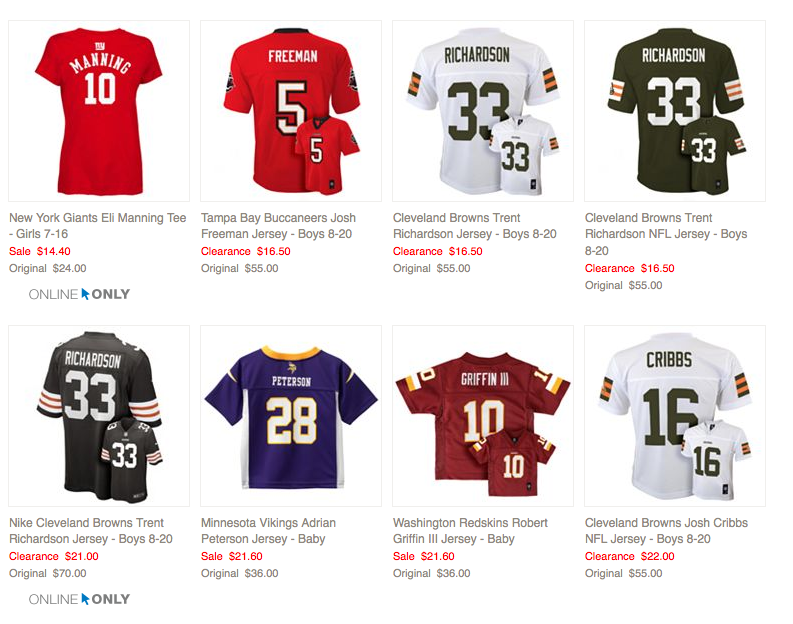 baby jerseys nfl | The National Football League,NBAJERSEYS_JVNFSPT693,Kohl's: NFL Jerseys For Baby, Kids \u0026amp;amp; Adults Are As Low As $13.20