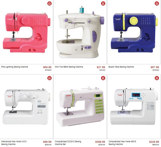 Zulily Lil Sew Sew And Janome Sewing Machine Sale Freebies40Deals Interesting Janome Sewing Machine Sale