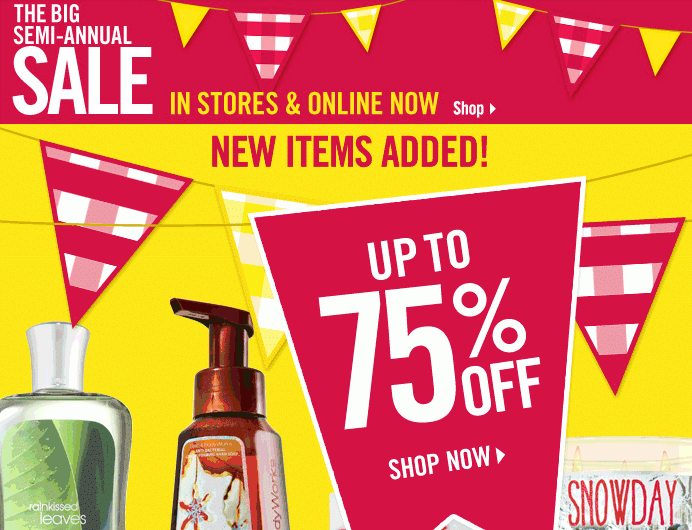 Bath and Body Works Semi Annual Sale Dates CONFIRMED! Deb June 3, Save Saved Removed 0. We would love for you to Become A Supporter. Join our NEW GLITCH COMMUNITY On Discord. Follow. Be Sure To Cast Your Vote For This Post. IT IS LIVE ONLINE NOW!! GO HERE The dates have been confirmed!