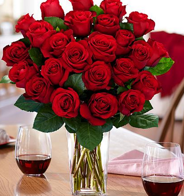 proflowers two dozen roses with a vase just 38 47 shipped
