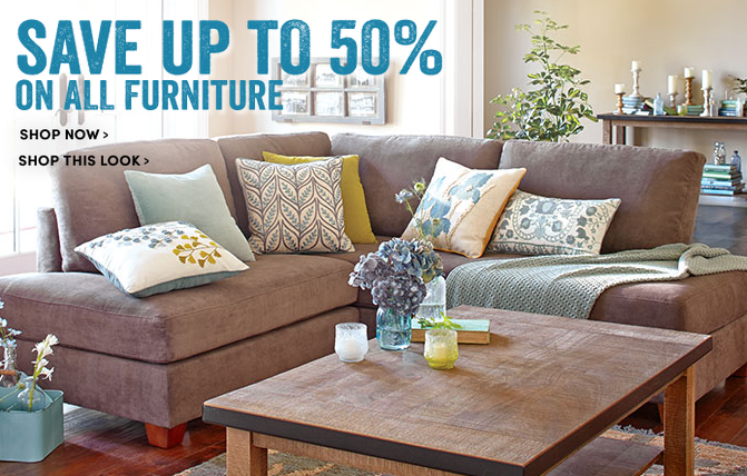 World Market: Up To 50% Off All Furniture Plus Additional