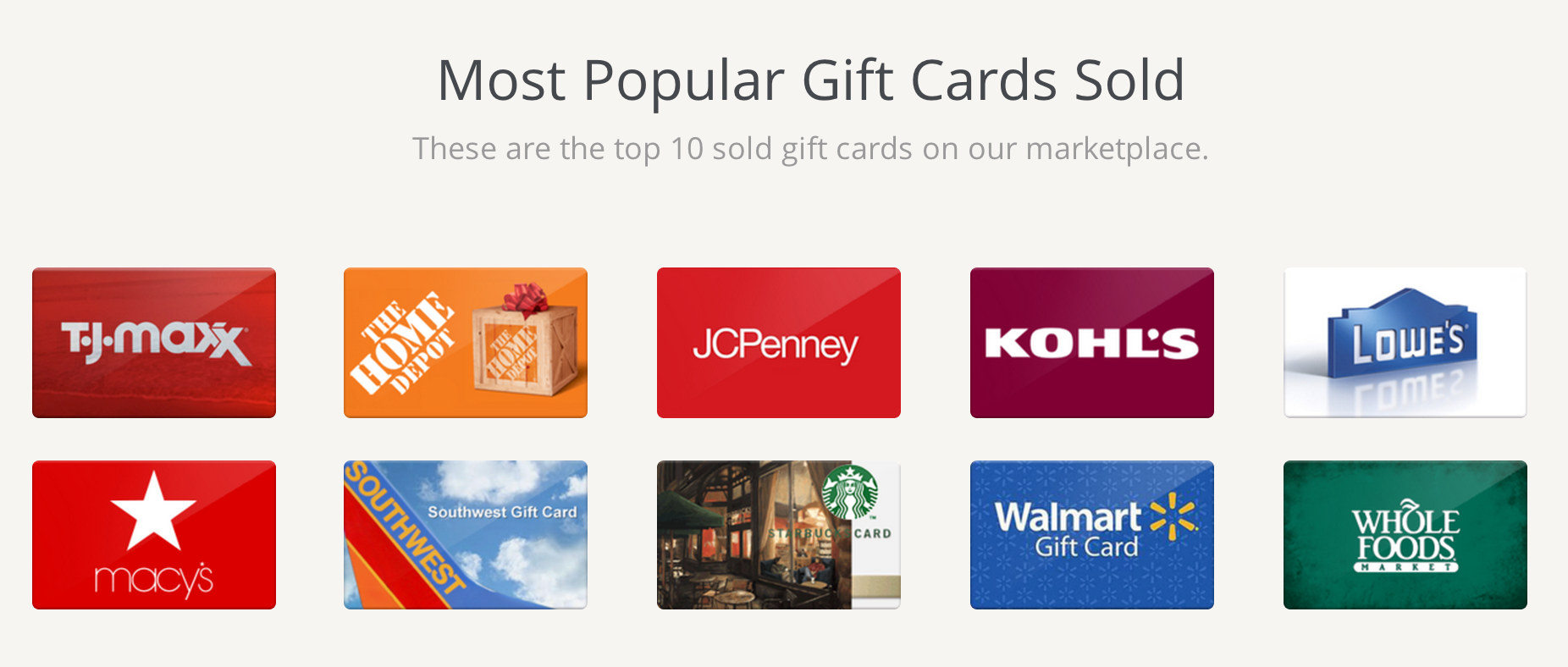 Get Cash for Your Unwanted Gift Cards! Turn Christmas Gift Cards ...