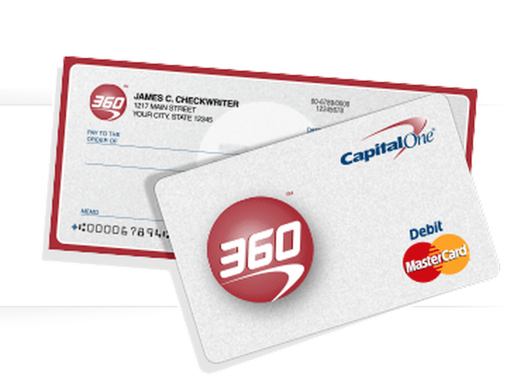 capital one 360 my account