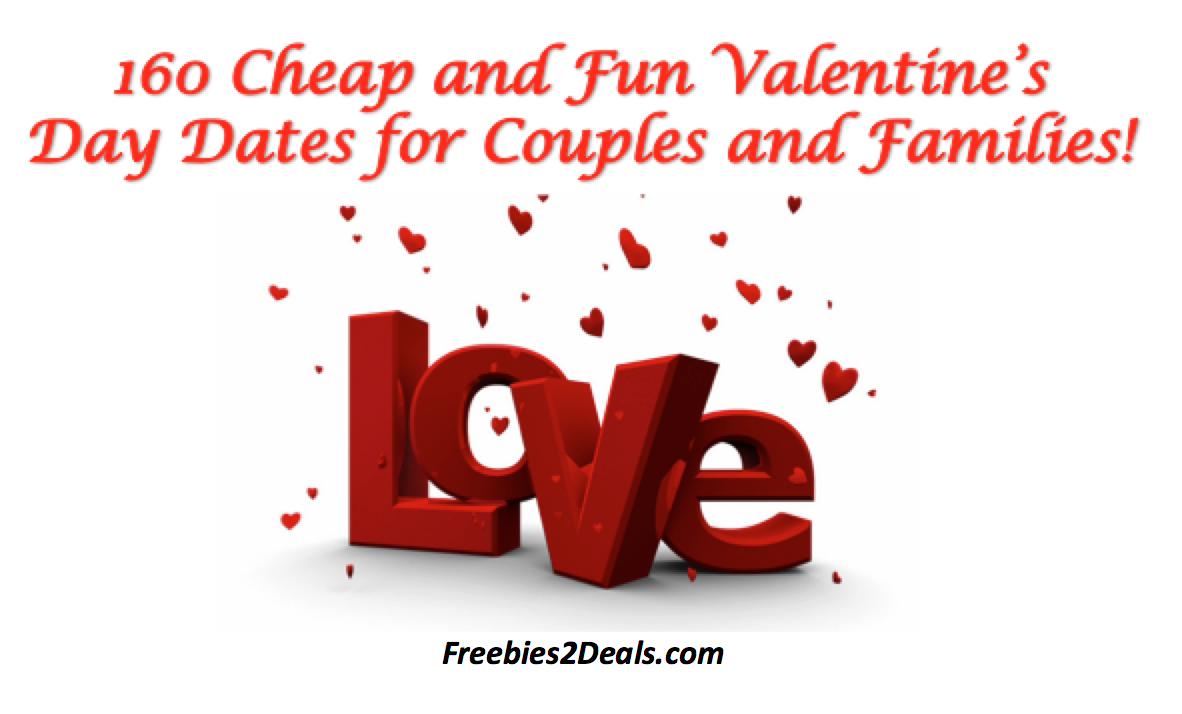 cheap date ideas for couples and families valentines day - Cheap Valentines Day Date Ideas