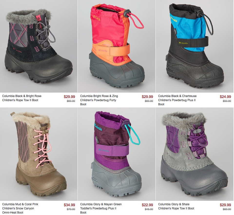 Columbia Sale On Zulily Save Big On Women S Amp Kids Boots