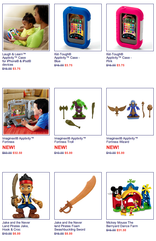46cb02b17739d1 Fisher-Price  75 Toys Marked Up To 75% Off! Save On Imaginext ...