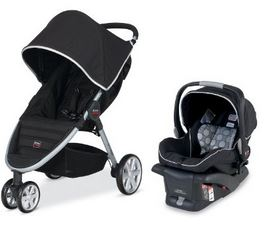 Britax 2014 B Agile And B Safe Travel System Only 244 02