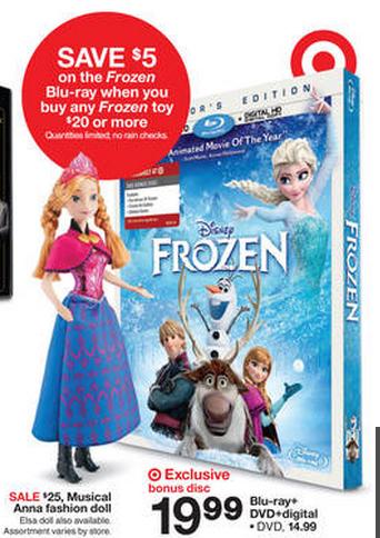best price on Frozen