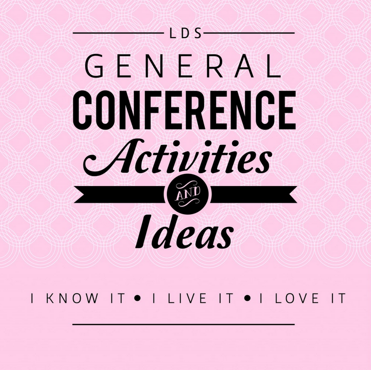 cheap general conference ideas for kids