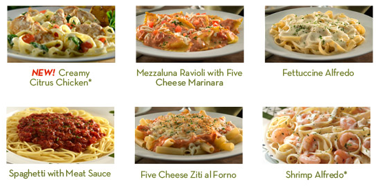 Buy One Entree Take One Home Free At Olive Garden Freebies2deals