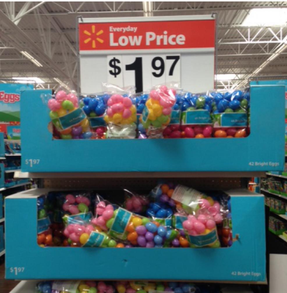 Plastic Easter Eggs Walmart
