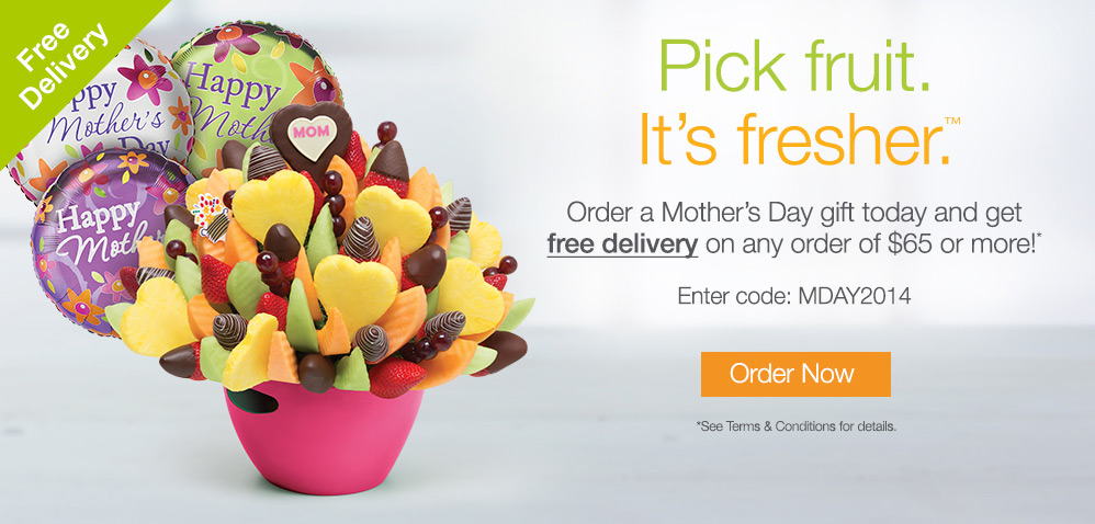 Edible arrangements coupon code delivery