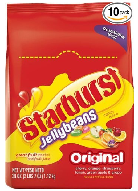Excellent Hurry 10 Pack Of Starburst Jellybeans 39 Ounce Bags Only Squirreltailoven Fun Painted Chair Ideas Images Squirreltailovenorg