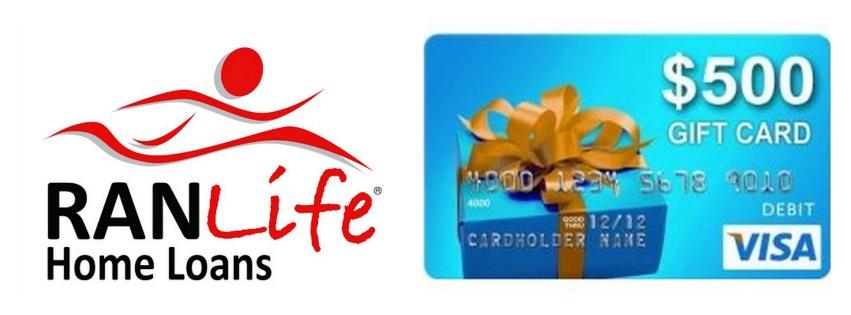 best deal on mortgage loan - 500 Visa Gift Card