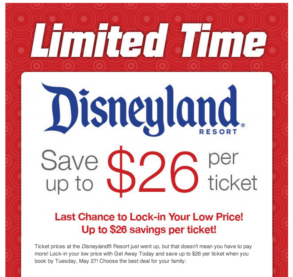 Jul 09,  · Disneyland is not giving away free tickets to families to celebrate years of service, despite an advertisement circulating on social media. The false offer looks like a coupon.