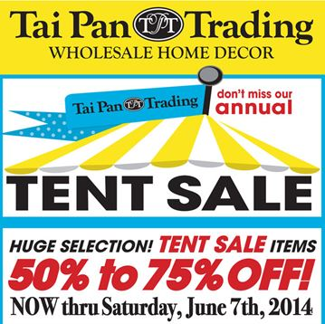 Utah Idaho California Readers Tai Pan Trading Tent Sale Prices Marked Up To 75 Off