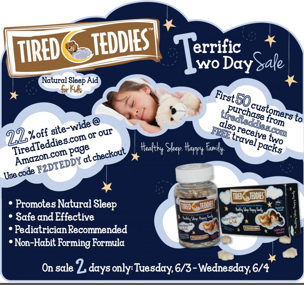 tired teddies discount
