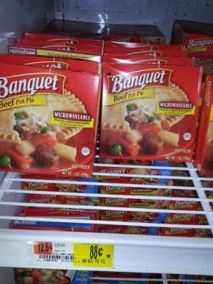 Banquet pot pie coupons