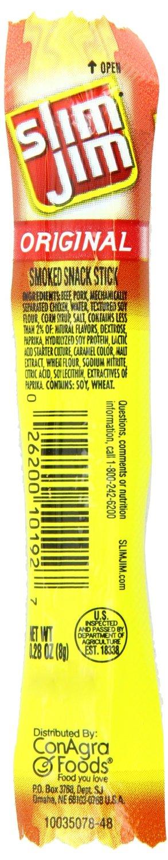 Slim Jim Smoked Snack Sticks 100-Pack $12.45 Shipped ...