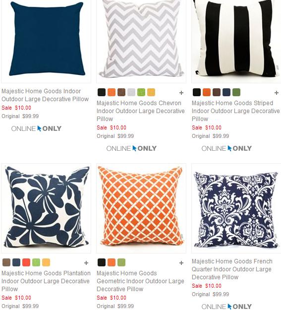 HOT Kohl's IndoorOutdoor Decorative Pillows Just 40408 Regularly Classy Decorative Pillows Kohls