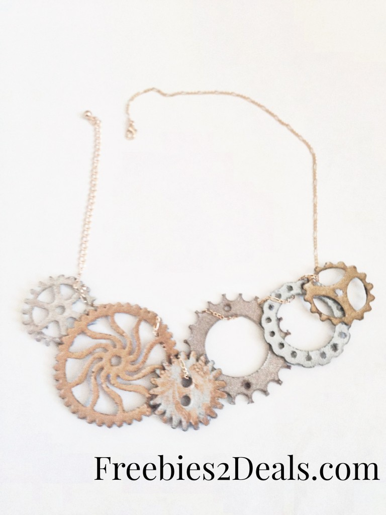 how to make a gear necklace